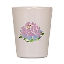 Pink Lotus Shot Glass