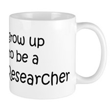 Grow Up Marketing Researcher Small Mug