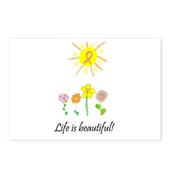 Life is Beautiful Postcards (Package of 8)