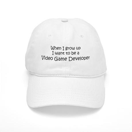 Grow Up Video Game Developer Cap