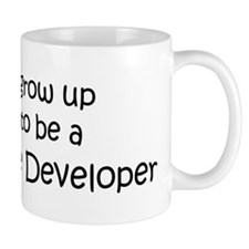 Grow Up Video Game Developer Mug