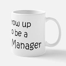 Grow Up Marketing Manager Mug