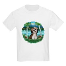 Birches - Shih Tzu #2 T-Shirt