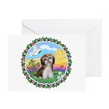 HappySun-ShihTzu#2 Greeting Card