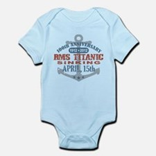 Titanic Sinking Anniversary Infant Bodysuit