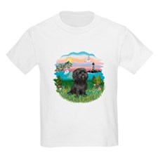 LightHouse-BlackShihTzu T-Shirt