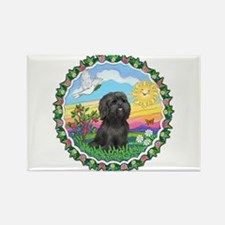 HappySun-ShihTzu#21 Rectangle Magnet