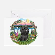 Garden-ShihTzu#21 Greeting Cards (Pk of 20)