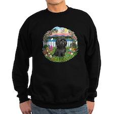 Garden-ShihTzu#21 Sweatshirt