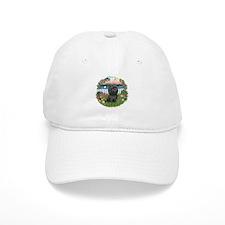 Garden-ShihTzu#21 Baseball Cap