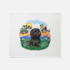 BrightLife-ShihTzu#21 Throw Blanket