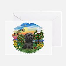 BrightCountry-ShihTzu-blk Greeting Cards (Pk of 20