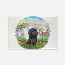 AngelStar/Shih Tzu (blk) Rectangle Magnet