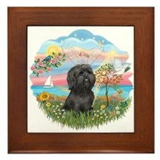 AngelStar-ShihTzu#21 Framed Tile