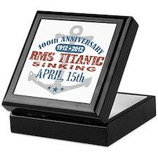 Titanic Sinking Anniversary Keepsake Box