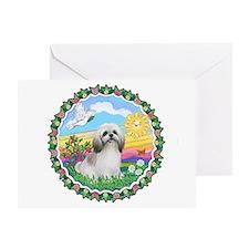 HappySun-ShihTzu #23 Greeting Card