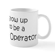 Grow Up Telephone Operator Mug