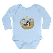 RowBoat-ShihTzu#8 Long Sleeve Infant Bodysuit