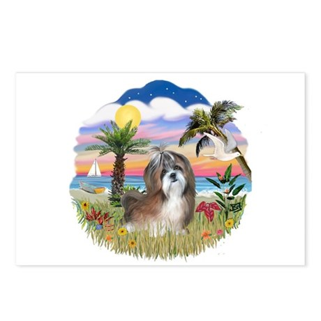 Palms-Shih Tzu #8 Postcards (Package of 8)