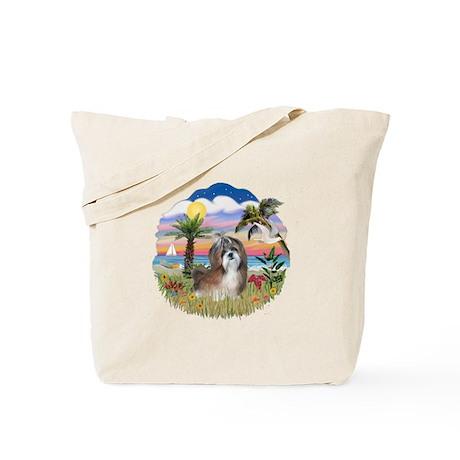 Palms-Shih Tzu #8 Tote Bag