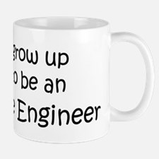 Grow Up Aerospace Engineer Mug
