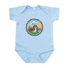 HappySun-ShihTzu8 Infant Bodysuit