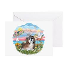 AngelStar-ShihTzu#8 Greeting Card