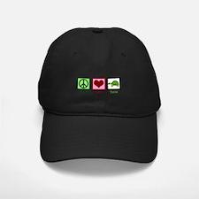 Peace Love Turtles Baseball Hat