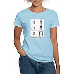 Simple Math Women's Pink T-Shirt
