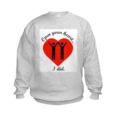 Open Your Heart Sweatshirt