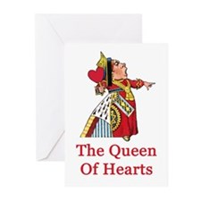 The Queen of Hearts Greeting Cards (Pk of 10)
