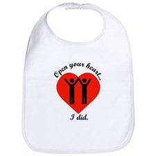 Open Your Heart Bib