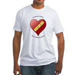 Keeps On Tickin Fitted T-Shirt