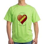 Keeps On Tickin Green T-Shirt