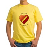 Keeps On Tickin Yellow T-Shirt