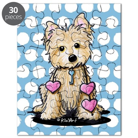Heartstrings Cairn Terrier Puzzle