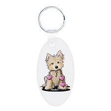Heartstrings Cairn Terrier Keychains