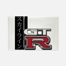 Skyline GT-R Katakana Rectangle Magnet