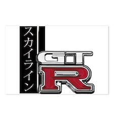 Skyline GT-R Katakana Postcards (Package of 8)