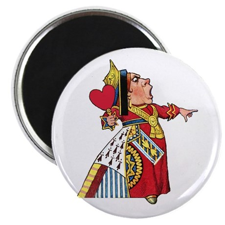 """The Queen of Hearts 2.25"""" Magnet (10 pack)"""
