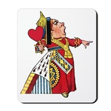 The Queen of Hearts Mousepad