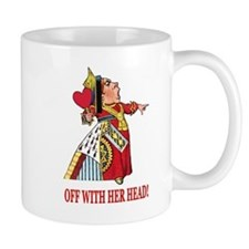 The Queen of Hearts Small Mugs