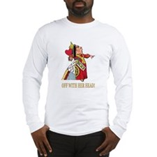 The Queen of Hearts Long Sleeve T-Shirt