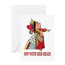 The Queen of Hearts Greeting Card