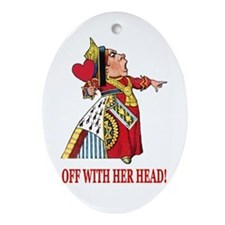 The Queen of Hearts Ornament (Oval)