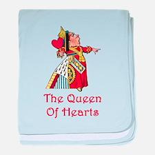The Queen of Hearts baby blanket