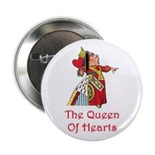 "The Queen of Hearts 2.25"" Button"