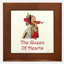 The Queen of Hearts Framed Tile