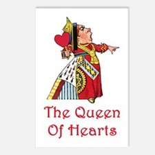 The Queen of Hearts Postcards (Package of 8)