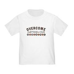 Improvise, Adapt, Overcome Toddler T-Shirt